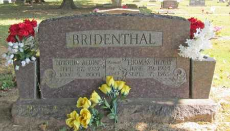 GARRIOTT BRIDENTHAL, DOROTHA ALDINE - Washington County, Arkansas | DOROTHA ALDINE GARRIOTT BRIDENTHAL - Arkansas Gravestone Photos