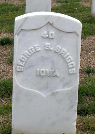 BRIGGS (VETERAN UNION), GEORGE S - Washington County, Arkansas | GEORGE S BRIGGS (VETERAN UNION) - Arkansas Gravestone Photos