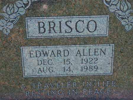 BRISCO, EDWARD ALLEN - Washington County, Arkansas | EDWARD ALLEN BRISCO - Arkansas Gravestone Photos