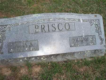 BRISCO, WILLIAM M. - Washington County, Arkansas   WILLIAM M. BRISCO - Arkansas Gravestone Photos