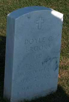 BROOKS (VETERAN WWII), DOYLE C. - Washington County, Arkansas   DOYLE C. BROOKS (VETERAN WWII) - Arkansas Gravestone Photos