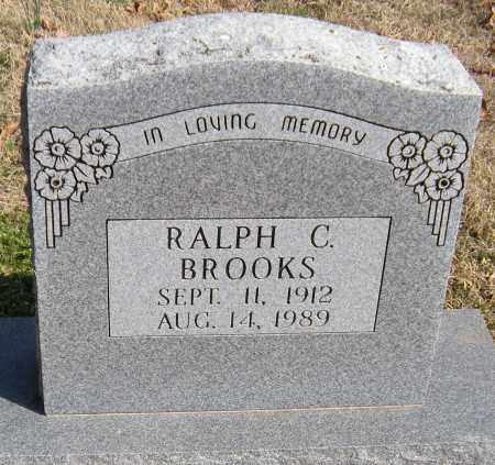 BROOKS, RALPH C. - Washington County, Arkansas | RALPH C. BROOKS - Arkansas Gravestone Photos