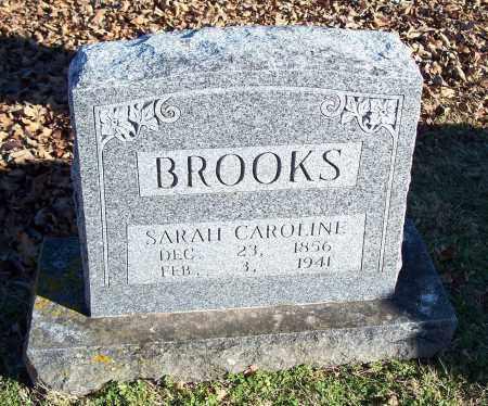BROOKS, SARAH CAROLINE - Washington County, Arkansas   SARAH CAROLINE BROOKS - Arkansas Gravestone Photos