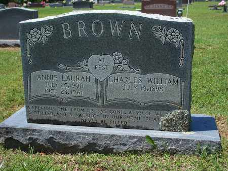 BROWN, CHARLES WILLIAM - Washington County, Arkansas | CHARLES WILLIAM BROWN - Arkansas Gravestone Photos