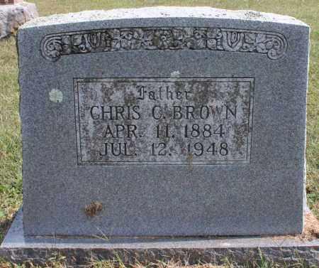BROWN, CHRIS C. - Washington County, Arkansas   CHRIS C. BROWN - Arkansas Gravestone Photos
