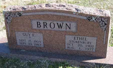 BROWN, GUY E - Washington County, Arkansas | GUY E BROWN - Arkansas Gravestone Photos