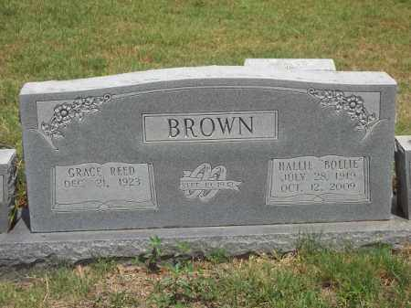 "BROWN, HALLIE ""BOLLIE"" - Washington County, Arkansas 