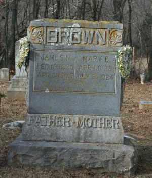 BROWN (VETERAN UNION), JAMES W - Washington County, Arkansas | JAMES W BROWN (VETERAN UNION) - Arkansas Gravestone Photos