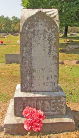 BROYLES, MARY S. - Washington County, Arkansas | MARY S. BROYLES - Arkansas Gravestone Photos