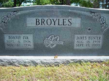 BROYLES, JAMES HUNTER - Washington County, Arkansas | JAMES HUNTER BROYLES - Arkansas Gravestone Photos