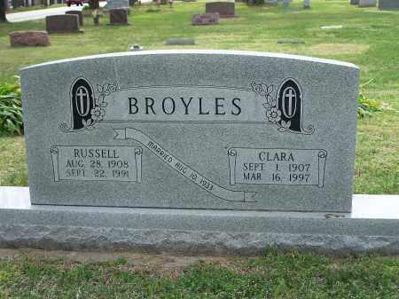 BROYLES, RUSSELL - Washington County, Arkansas | RUSSELL BROYLES - Arkansas Gravestone Photos