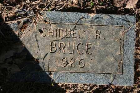BRUCE, SAMUEL R. - Washington County, Arkansas | SAMUEL R. BRUCE - Arkansas Gravestone Photos