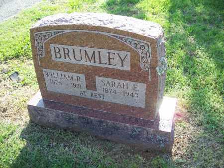 CARNES BRUMLEY, SARAH ELIZABETH - Washington County, Arkansas   SARAH ELIZABETH CARNES BRUMLEY - Arkansas Gravestone Photos