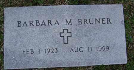 BRUNER, BARBARA M. - Washington County, Arkansas | BARBARA M. BRUNER - Arkansas Gravestone Photos