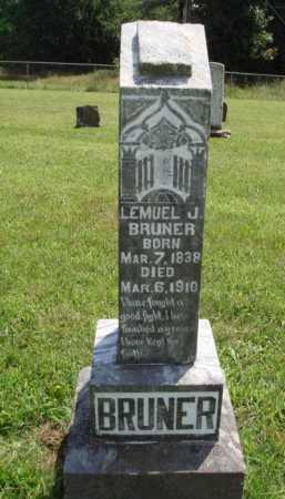 BRUNER, LEMUEL J. - Washington County, Arkansas | LEMUEL J. BRUNER - Arkansas Gravestone Photos