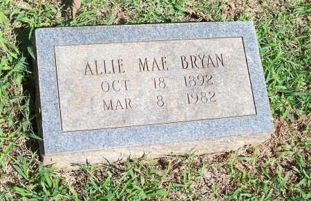 BRYAN, ALLIE MAE - Washington County, Arkansas   ALLIE MAE BRYAN - Arkansas Gravestone Photos