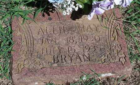 BRYAN, ALLIE MAY - Washington County, Arkansas   ALLIE MAY BRYAN - Arkansas Gravestone Photos