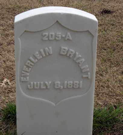 BRYANT (VETERAN UNION), EVERLEIN - Washington County, Arkansas   EVERLEIN BRYANT (VETERAN UNION) - Arkansas Gravestone Photos