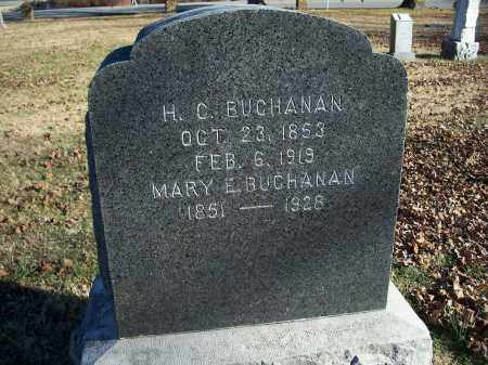 BUCHANAN, MARY E. - Washington County, Arkansas | MARY E. BUCHANAN - Arkansas Gravestone Photos