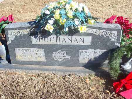 BUCHANAN, HENRY THORNTON - Washington County, Arkansas | HENRY THORNTON BUCHANAN - Arkansas Gravestone Photos