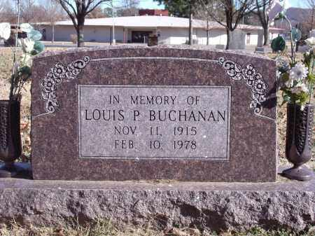 BUCHANAN, LOUIS P. - Washington County, Arkansas   LOUIS P. BUCHANAN - Arkansas Gravestone Photos