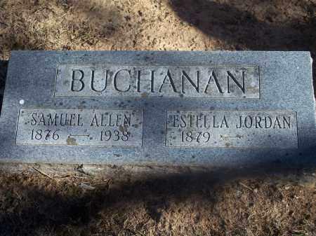 BUCHANAN, SAMUEL ALLEN - Washington County, Arkansas | SAMUEL ALLEN BUCHANAN - Arkansas Gravestone Photos