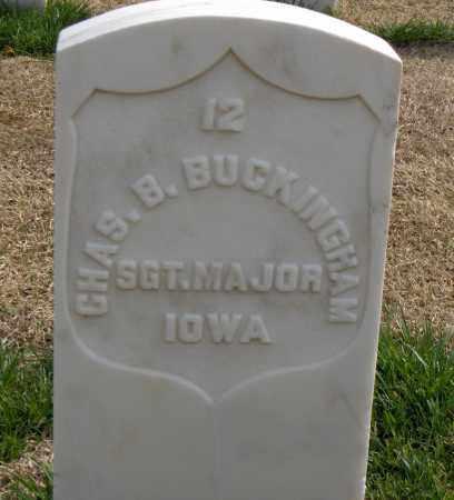 BUCKINGHAM (VETERAN UNION), CHARLES B - Washington County, Arkansas | CHARLES B BUCKINGHAM (VETERAN UNION) - Arkansas Gravestone Photos