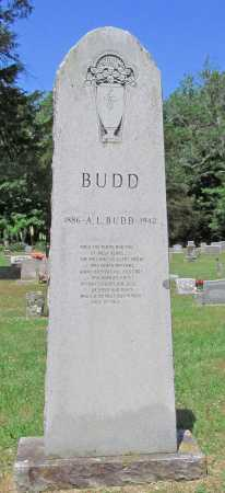 BUDD, A L - Washington County, Arkansas | A L BUDD - Arkansas Gravestone Photos