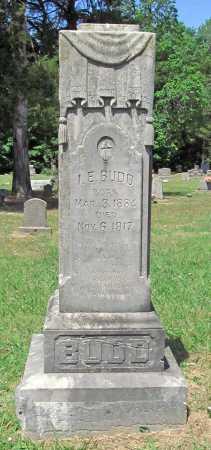 BUDD, I E - Washington County, Arkansas | I E BUDD - Arkansas Gravestone Photos