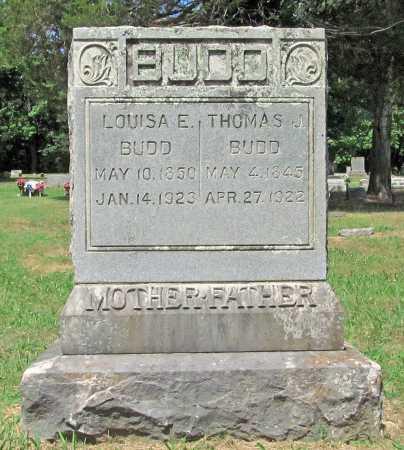 BUDD, THOMAS J - Washington County, Arkansas | THOMAS J BUDD - Arkansas Gravestone Photos