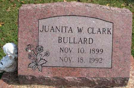 CLARK BULLARD, JUANITA W. - Washington County, Arkansas | JUANITA W. CLARK BULLARD - Arkansas Gravestone Photos