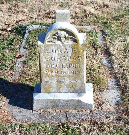 BURCHAM, LORA E. - Washington County, Arkansas | LORA E. BURCHAM - Arkansas Gravestone Photos