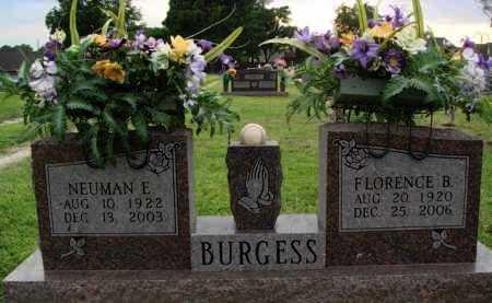BURGESS, FLORENCE B. - Washington County, Arkansas   FLORENCE B. BURGESS - Arkansas Gravestone Photos