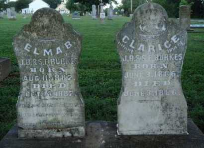 BURKES, CLARICE - Washington County, Arkansas | CLARICE BURKES - Arkansas Gravestone Photos