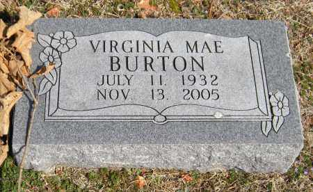 BALLOU BURTON, VIRGINIA MAE - Washington County, Arkansas | VIRGINIA MAE BALLOU BURTON - Arkansas Gravestone Photos
