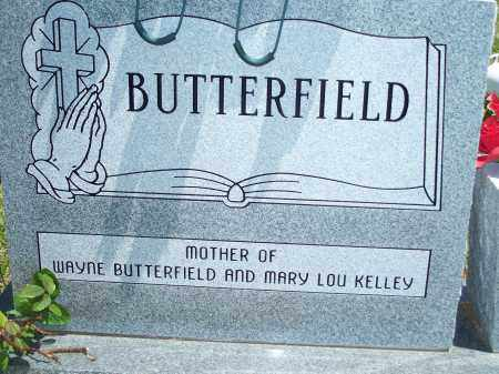 BUTTERFIELD, LEONA - Washington County, Arkansas | LEONA BUTTERFIELD - Arkansas Gravestone Photos