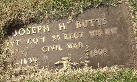 BUTTS (VETERAN UNION), JOSEPH H. - Washington County, Arkansas | JOSEPH H. BUTTS (VETERAN UNION) - Arkansas Gravestone Photos