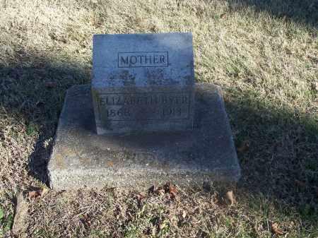 BYER, ELIZABETH - Washington County, Arkansas   ELIZABETH BYER - Arkansas Gravestone Photos