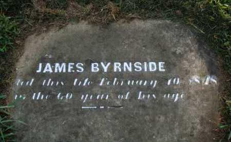 BYRNSIDE, JAMES - Washington County, Arkansas | JAMES BYRNSIDE - Arkansas Gravestone Photos