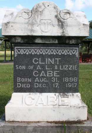 CABE, CLINT - Washington County, Arkansas | CLINT CABE - Arkansas Gravestone Photos