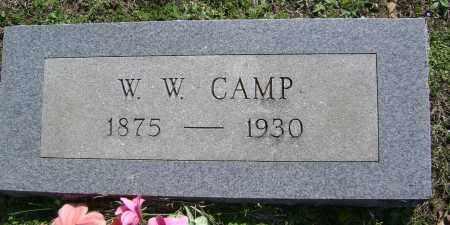 CAMP, W. W. - Washington County, Arkansas | W. W. CAMP - Arkansas Gravestone Photos