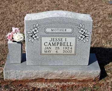 CAMPBELL, JESSE I. - Washington County, Arkansas | JESSE I. CAMPBELL - Arkansas Gravestone Photos