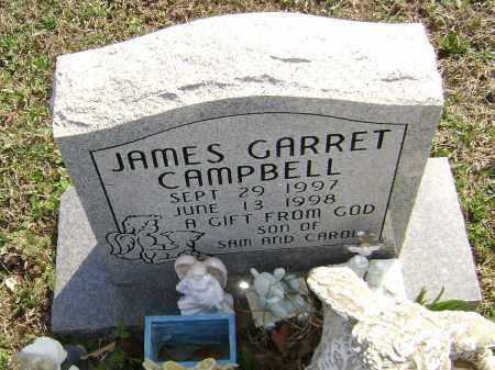 CAMPBELL, JAMES GARRET - Washington County, Arkansas | JAMES GARRET CAMPBELL - Arkansas Gravestone Photos