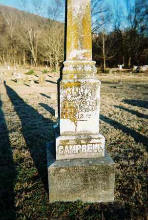 CAMPBELL, MARY A. - Washington County, Arkansas   MARY A. CAMPBELL - Arkansas Gravestone Photos