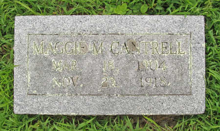 CANTRELL, MAGGIE M - Washington County, Arkansas | MAGGIE M CANTRELL - Arkansas Gravestone Photos