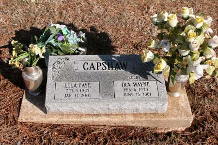 "CAPSHAW, IRA WAYNE ""ROCKY"" - Washington County, Arkansas | IRA WAYNE ""ROCKY"" CAPSHAW - Arkansas Gravestone Photos"