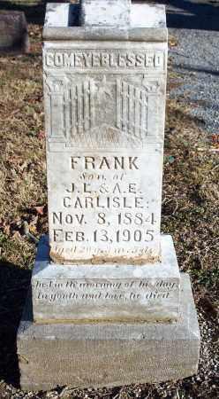 CARLISLE, FRANK - Washington County, Arkansas | FRANK CARLISLE - Arkansas Gravestone Photos