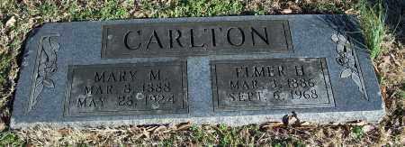 CARLTON, MARY M. - Washington County, Arkansas | MARY M. CARLTON - Arkansas Gravestone Photos