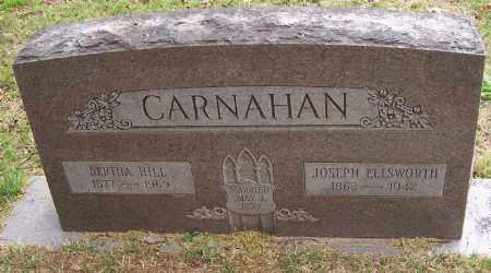 CARNAHAN, JOSEPH ELLSWORTH - Washington County, Arkansas | JOSEPH ELLSWORTH CARNAHAN - Arkansas Gravestone Photos