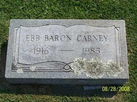 CARNEY, EBB BARON - Washington County, Arkansas | EBB BARON CARNEY - Arkansas Gravestone Photos